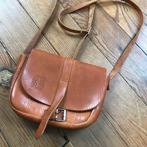 Vintage Leather Small Crossbody